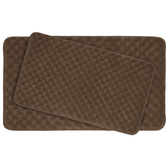 Bounce Comfort Massage 2-pc. Memory Foam Bath Mat Set