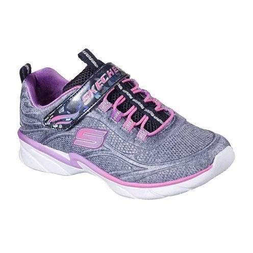 Skechers® Swirly Girl Shimmertime Girls Sneakers - Little Kids/Big Kids