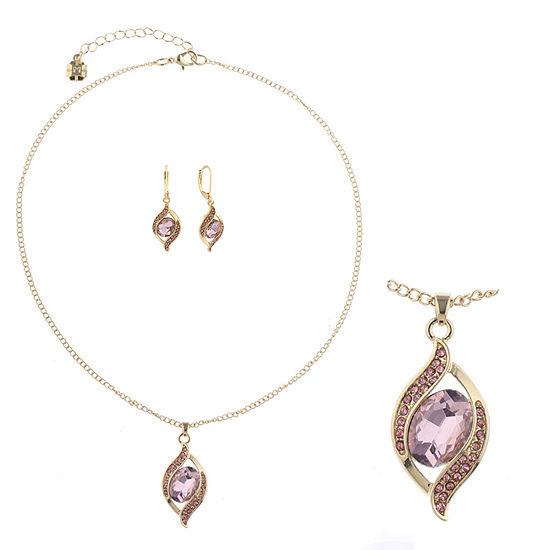 Monet Jewelry 2-pc. Pink Jewelry Set