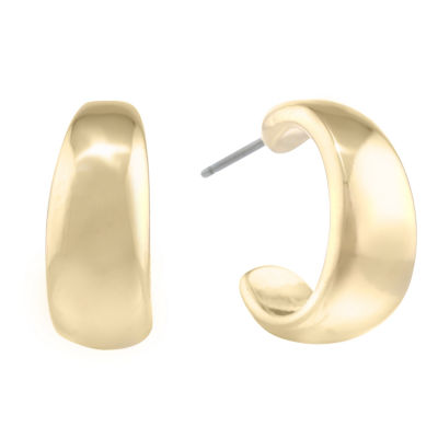 Liz Claiborne 17mm Hoop Earrings