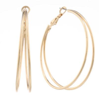 Liz Claiborne 48.3mm Hoop Earrings