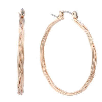 Liz Claiborne 37mm Hoop Earrings