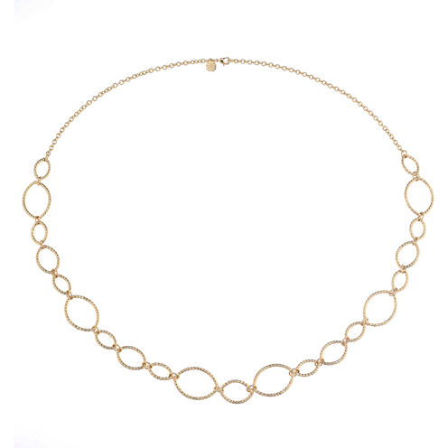 Monet Jewelry Womens 34 Inch Link Necklace