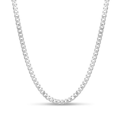 Made in Italy Sterling Silver 16 Inch Solid Chain Necklace
