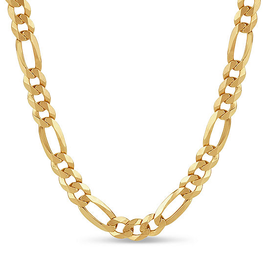 Made In Italy 18k Gold Over Silver 24 Inch Chain Necklace