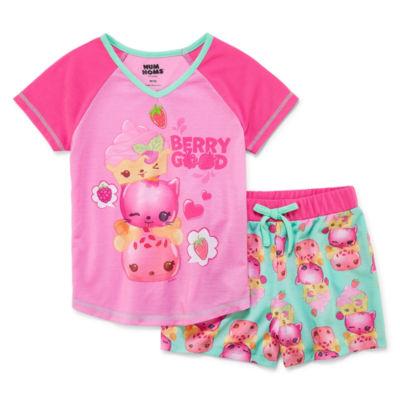 2-pack Shorts Pajama Set Girls