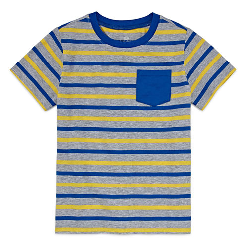 Okie Dokie Boys Stripe T-Shirt - Preschool 4-7