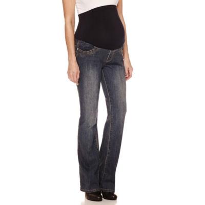 Tala Jeans Bootcut Jeans-Plus Maternity