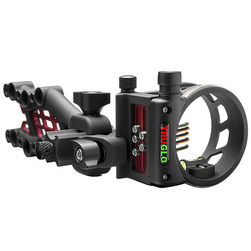 TRUGLO Carbon Hybrid Micro Adjust 5 Pin Sight Black