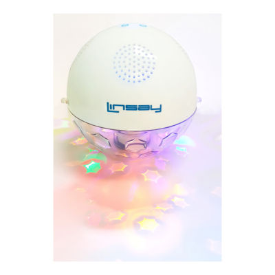 LINSAY® Smart SLP-1X Indoor/Outdoor Waterproof Bluetooth Stereo Speaker with Multi-Color LED Light Sync