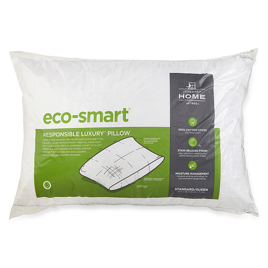 JCPenney Home Eco Smart Down Alternative Medium Density Pillow