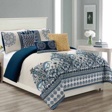 Riverbrook Home Sasha 6-pc. Midweight Comforter Set