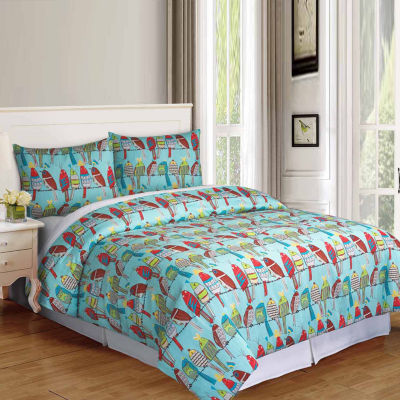 Riverbrook Home Feathered Friends 2-pc. Midweight Comforter Set