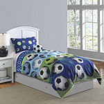 Riverbrook Home Soccer League 4-pc. Midweight Easy Care Comforter Set