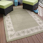 Cambridge Home Palm Rectangular Indoor/Outdoor Rugs