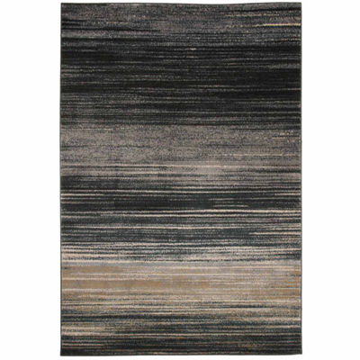 Cambridge Home Abstract Stripes Rectangular Rugs