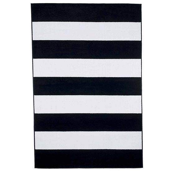 Cambridge Home Breton Stripe Rectangular Indoor Rugs