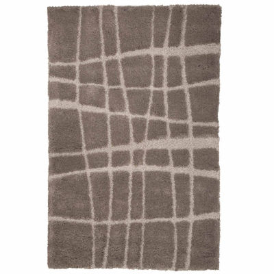 Cambridge Home Sculptured Stripes Rectangular Rugs