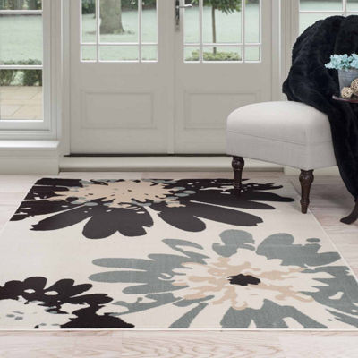 Cambridge Home Flower Rectangular Rugs