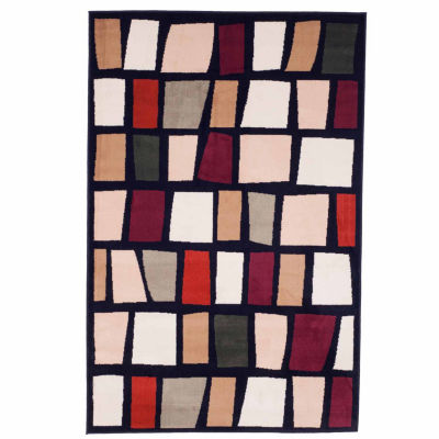 Cambridge Home Color Block Rectangular Indoor Rugs