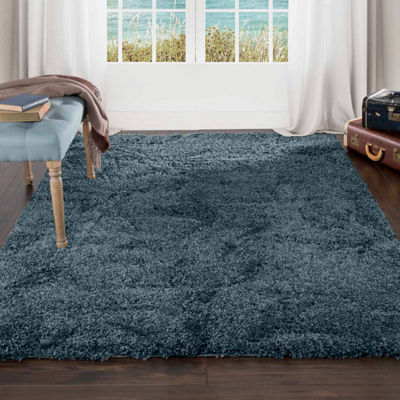 Cambridge Home Sculptured Flowers Shag Rectangular Rugs