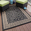 Cambridge Home Indoor-Outdoor Vines Rectangular Indoor Rugs