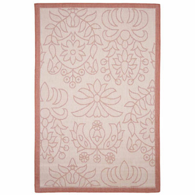 Cambridge Home Indoor-Outdoor Botanical Rectangular Rugs