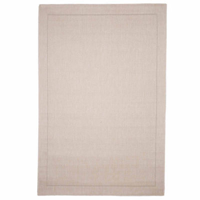 Cambridge Home Indoor-Outdoor Beige Rectangular Rugs