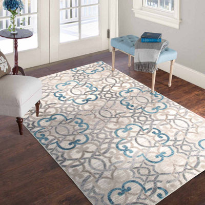 Cambridge Home Vintage Brocade Rectangular Rugs