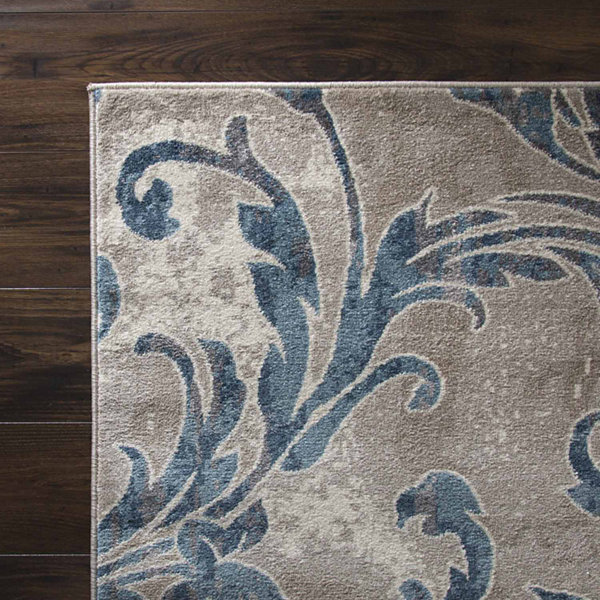 Cambridge Home Vintage Leaves Rectangular Rugs