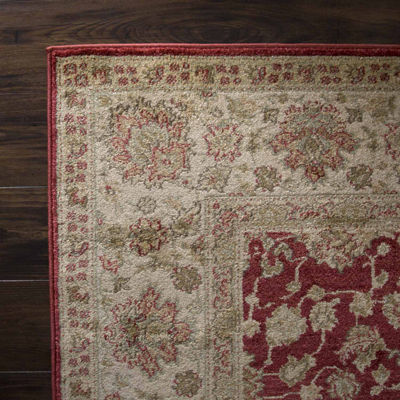 Cambridge Home Vintage Floral Rectangular Indoor Area Rug