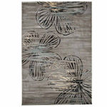 Cambridge Home Modern Floral Rectangular Indoor Rugs