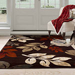 Cambridge Home Falling Leaves Rectangular Indoor Rugs