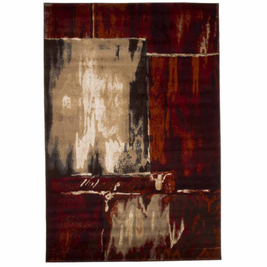 Cambridge Home Artfully Abstract Rectangular Rugs
