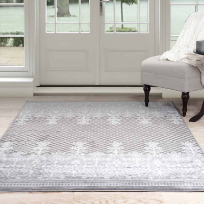 Cambridge Home Royal Garden Rectangular Indoor Area Rug
