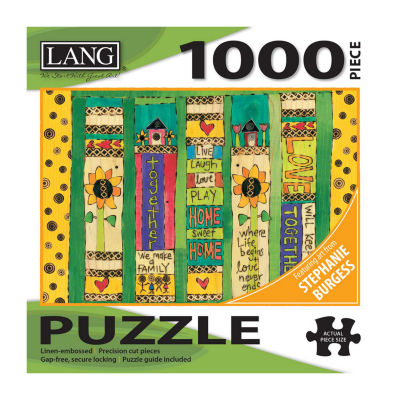LANG Family Love Puzzle - 1000 Pc