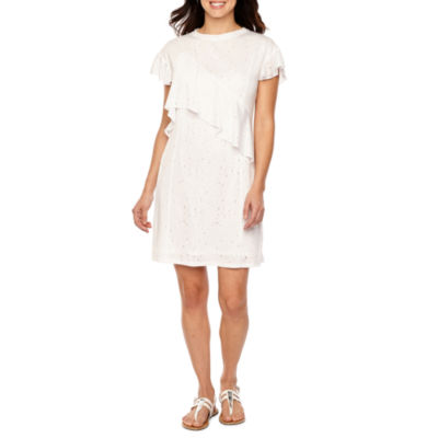 Vivi By Violet Weekend Short Sleeve Shift Dress