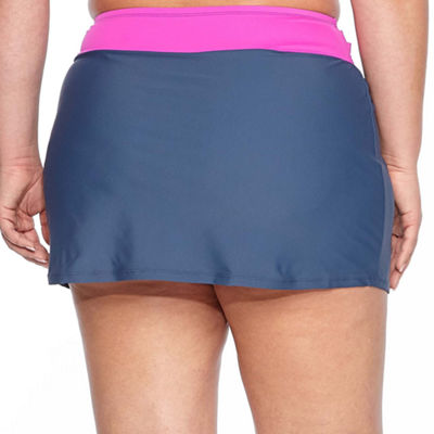 Free Country Swim Skirt-Plus