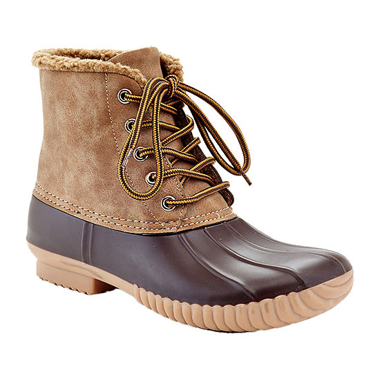 Henry Ferrera Womens Mission-72 Rain Boots Flat Heel