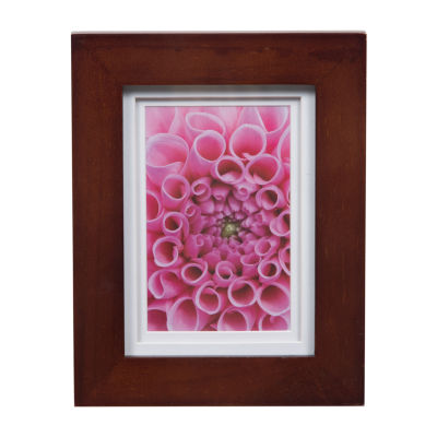 5X7 Wide White Double Mat To 4X6 Frame