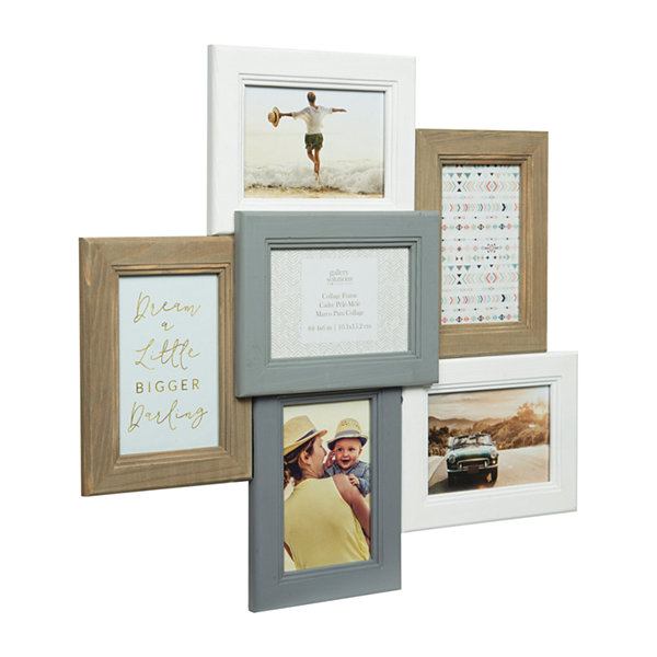 6 Opening Dimensional Collage Frame