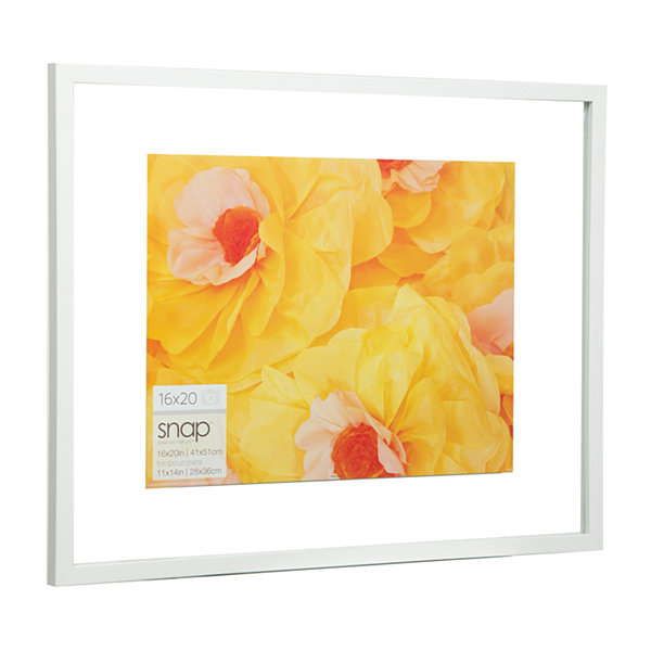 16X20 Float To 11X14 Frame