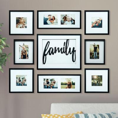 9 Piece Family Décor Frame Kit