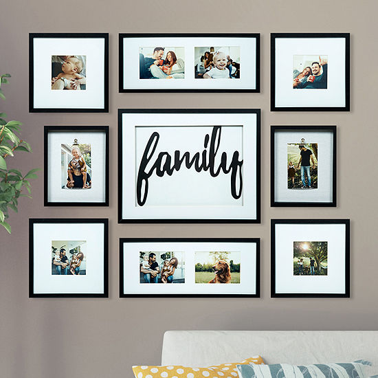 9 Piece Family Decor Frame Kit