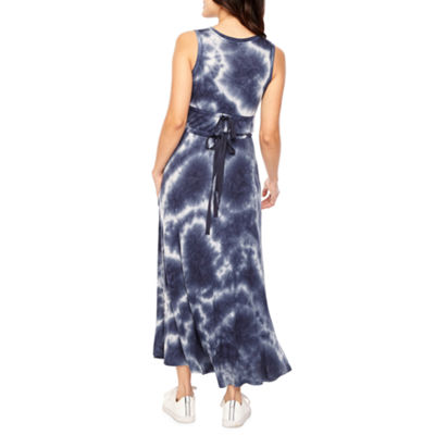 Vivi By Violet Weekend Sleeveless Tie Dye Shift Dress