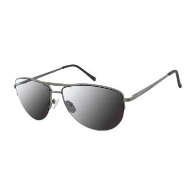 Arizona Half Frame Aviator UV Protection Sunglasses-Mens