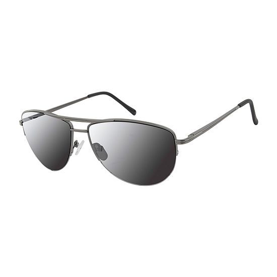 Arizona Mens Half Frame Aviator Sunglasses