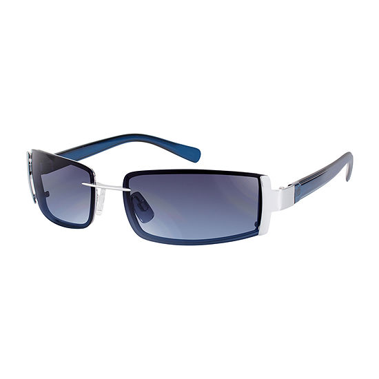 Arizona Mens Full Frame Rectangular Sunglasses
