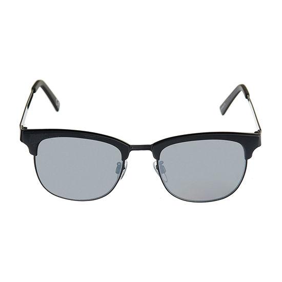 JF J.Ferrar Full Frame Round UV Protection Sunglasses-Mens - JCPenney