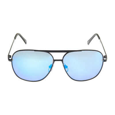 JF J.Ferrar Full Frame Aviator UV Protection Sunglasses-Mens